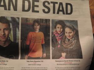 Parool 5 januari 2016 nominatie Amsterdammertje van het Jaar